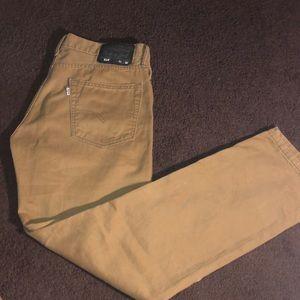Levi's Light Brown Pants 514